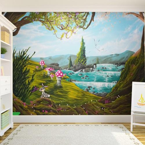 חדרי תינוקות, חדרי ילדים, חדרי בנים וגני ילדים