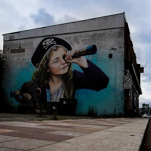 אומנות רחוב ובתי ספר